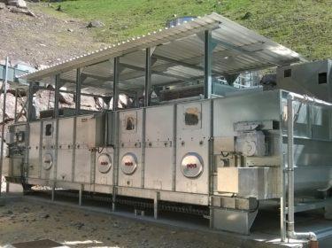 Immagine per Impianto di essiccazione per produzione di pellet.