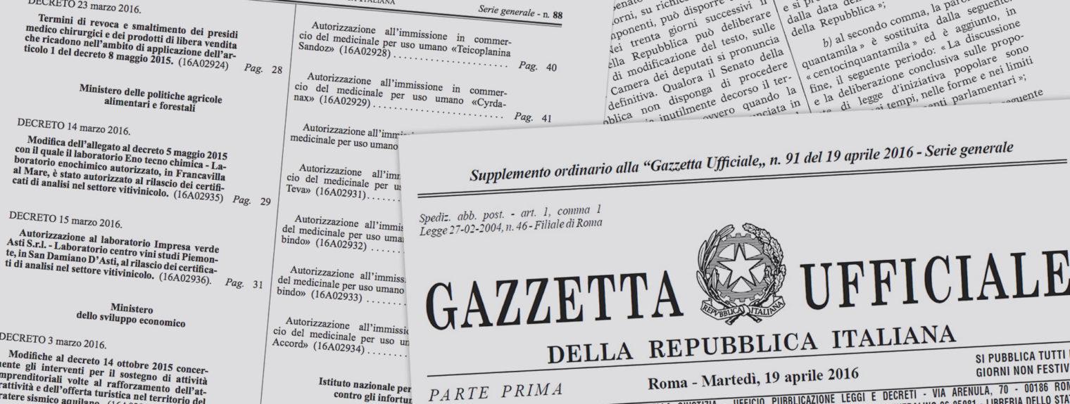 PUBBLICATO IN GAZZETTA UFFICIALE IL NUOVO CONTO TERMICO